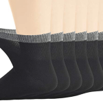 Eco-Friendly Bamboo Crew Socks For Men Image