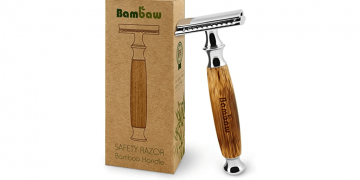 Eco-Friendly Bamboo Handle Razor Image