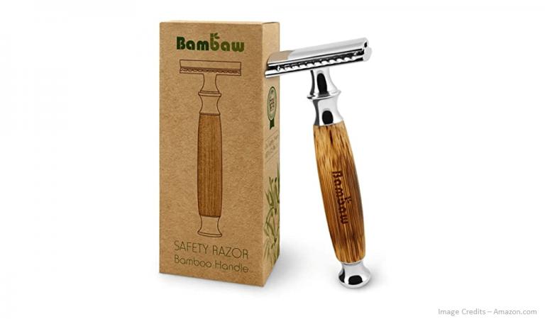 Eco-Friendly Bamboo Handle Razor Image