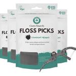 Eco-Friendly Biodegradable Dental Floss Picks Image