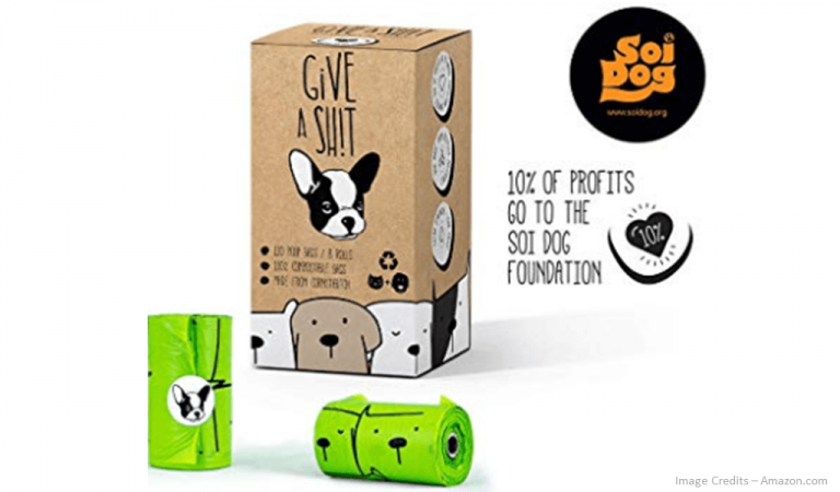 Eco-Friendly Biodegradable Doggie Poop Bags Image