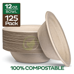 Eco-Friendly Compostable Bowls Image
