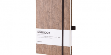 Eco-Friendly Cork Hardcover Notebook Image