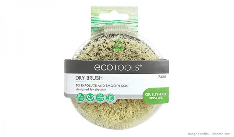 Eco-Friendly Exfoliating Dry Body Brush Image