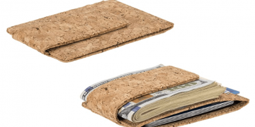 Eco-Friendly Mens Cork Money Clip Image
