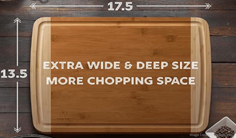 Eco-Friendly Organic Bamboo Cutting Board - Extra Large Image