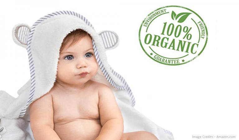 Eco-Friendly Organic Bamboo Hooded Baby Towel Image