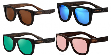 Eco-Friendly Polarized Bamboo Sunglasses Image