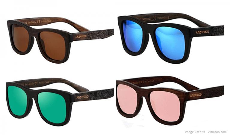 Eco-Friendly Polarized Bamboo Sunglasses Image