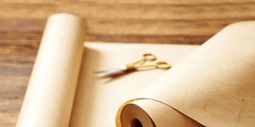 Eco-Friendly Recycled Brown Kraft Paper Jumbo Roll Image