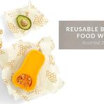 Eco-Friendly Reusable Beeswax Food Wraps Image