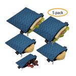 Eco-Friendly Reusable Easy Clean Sandwich Bags Image