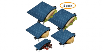 Eco-Friendly Reusable Easy Clean Sandwich Bags Image