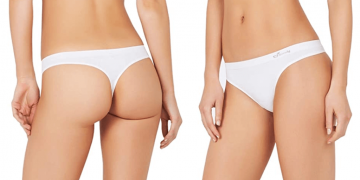 Eco-Friendly Womens Bamboo Viscose Thong Underwear Image