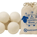 Eco-Friendly Wool Dryer Balls Image
