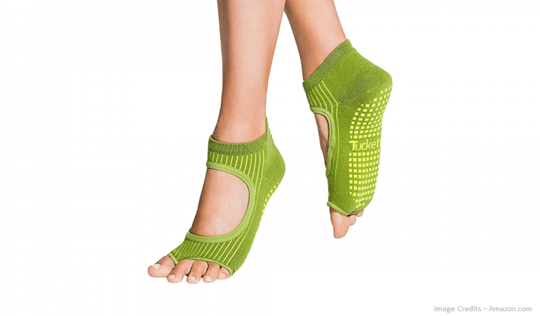 Eco-Friendly Yoga Socks For Women Image